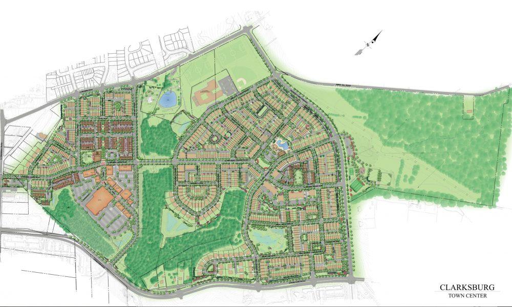 Clarksburg Towncenter Plan